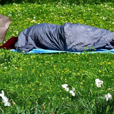 Mand der ikke har plads til en seng